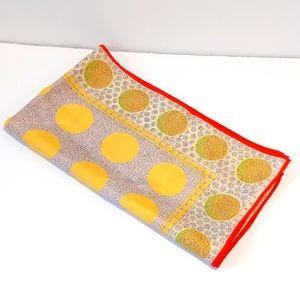 "Vintage Perry Ellis polka dot scarf 17.5""X65"""
